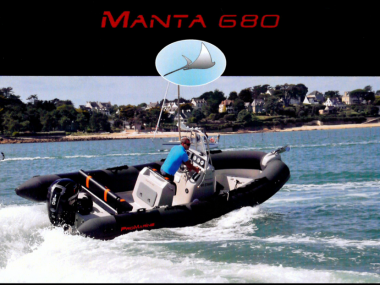 MANTA 680 SEMIRIGIDA PROMARINE