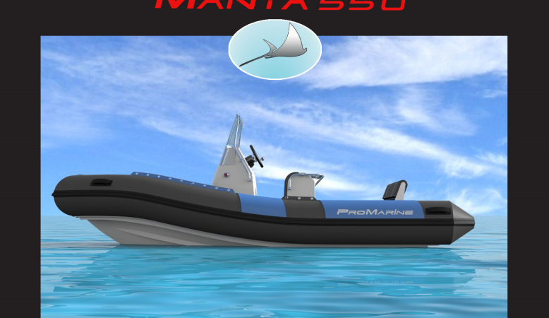 MANTA 550 PROMARINE SEMIRIGIDA