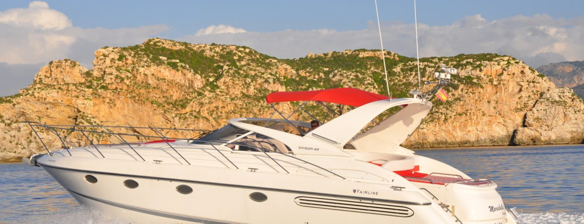 Fairline Targa 43 RED PEPPER