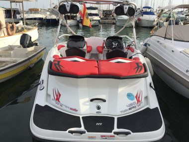 SEA-DOO 20 TWIN ROTAX 430 SPEEDSTER WAKE